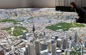 以模型重現東京都心街景 也可窺見澀谷的未來風貌(影片)