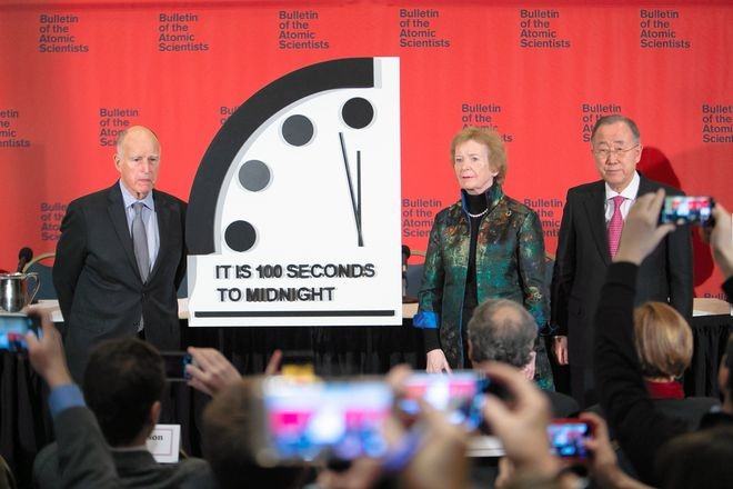 doomsday clock 2020 predictions
