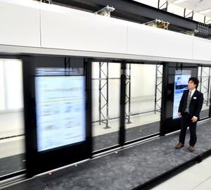 可對應各種不同規格列車 JR西日本試作次世代月台門(影片)