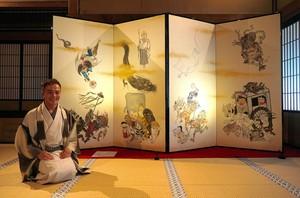 比叡山延曆寺的「七大不思議」 與《鬼太郎》同框展出(影片)