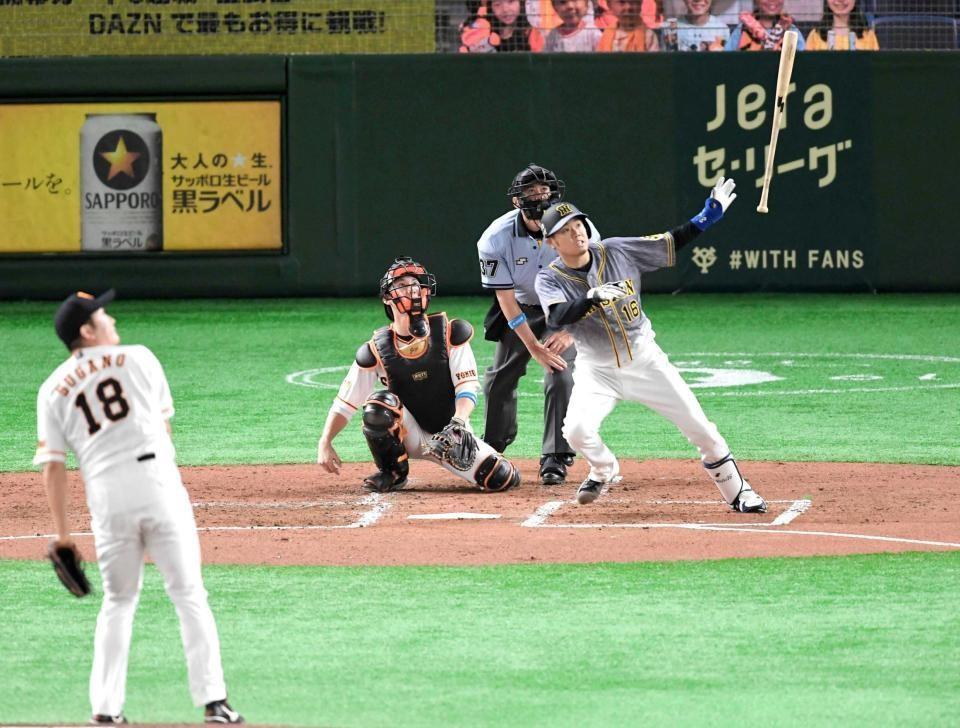 キング イニング 27イニング無得点…田尾氏、阪神打線に「寂しい」(ベースボールキング)