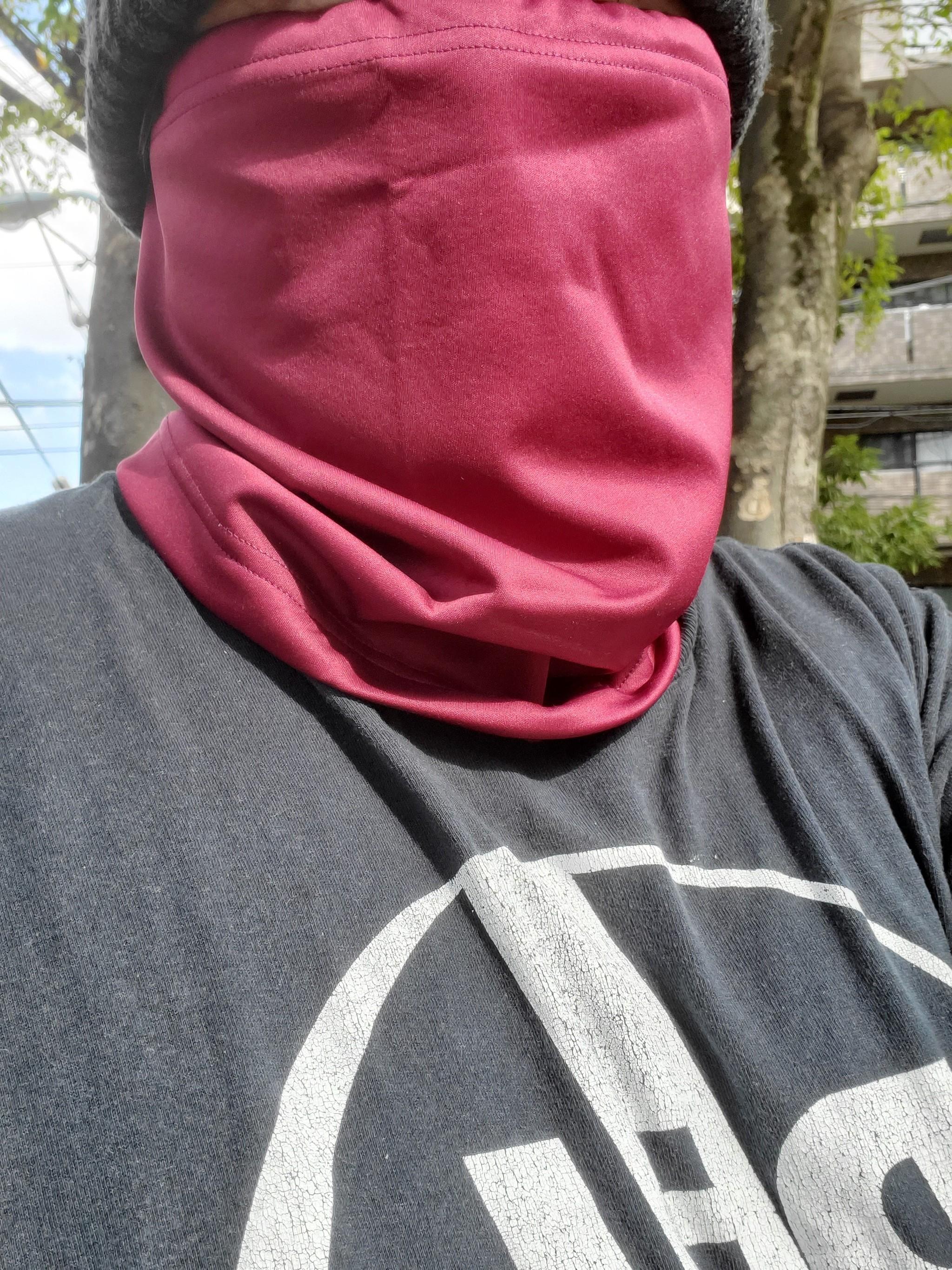 ランニング マスク コロナ