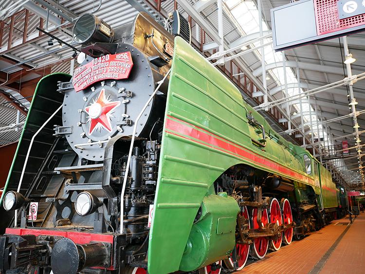 ロシア鉄道博物館で実感した日本...