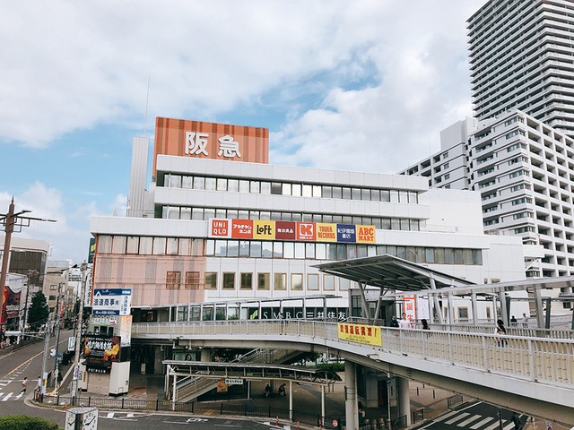 百貨店 車場 駐 阪急 高槻