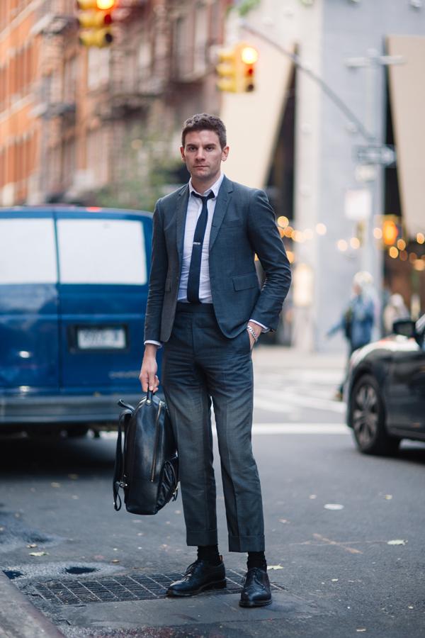 ニューヨークでストリート・ファッションスナップを撮りつづけているWataru \u201cBob\u201d Shimosatoが、ニューヨークのジェントルマンたちを調査。