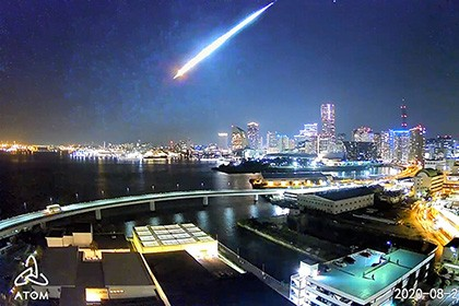 【Asahi.com article】【Today's English】Like a full moon: 2nd fireball since July 2 dazzles Japan's skies