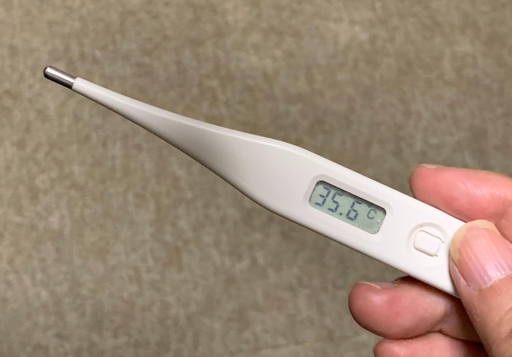 コロナ 低 体温