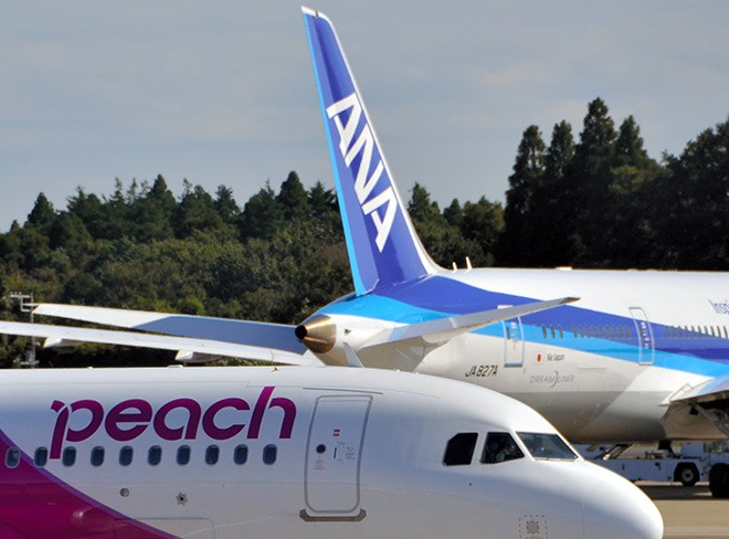 ANA forecasts record net loss, focuses more on LCC operations