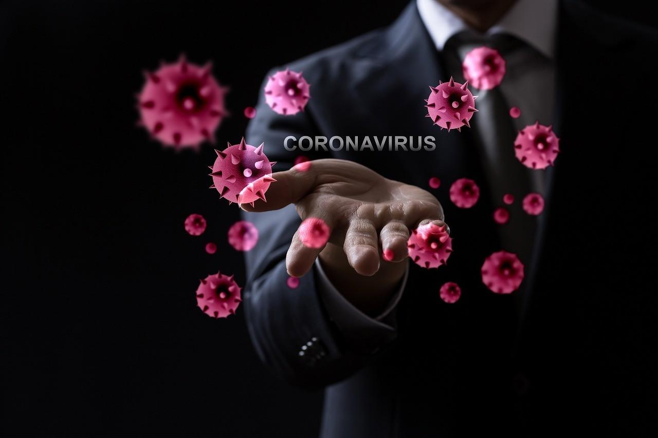 コロナ ウイルス ばらまき 男 名前