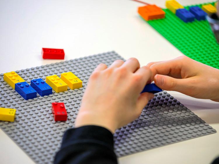 レゴの突起が点字に化ける