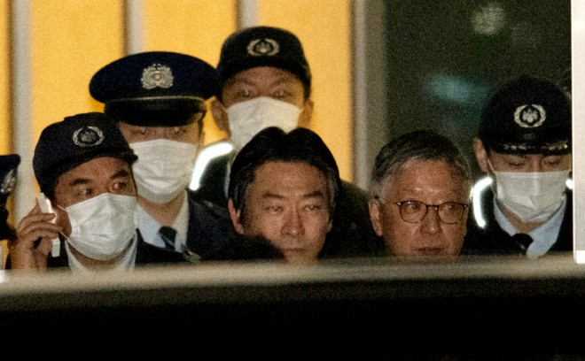 Bribe suspect Akimoto posts bail, released from detention : The Asahi  Shimbun