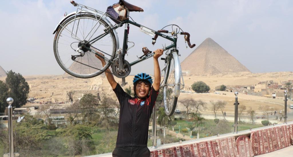 拳銃強盗や食中毒など数々のトラブル…自転車で「アフリカ縦断」した大学生が得たモノ :DANRO(ダンロ):ひとりを楽しむメディア